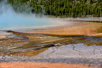 Grand Prismatic Geothermal Feature Yellowstone National Park