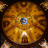 Dome of Church at Garden of Gethsemane Israel