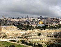Jerusalem View from Mount of Olives Israel